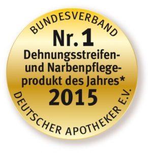 Siegel Produkt des Jahres 2015