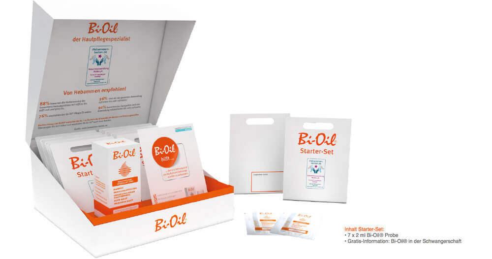 Bi-Oil Professional-Box für Hebammen