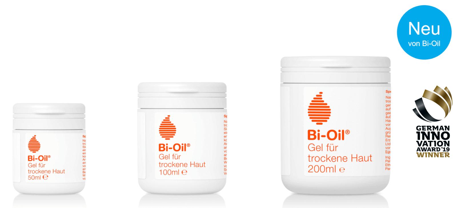 Bi Oil Gel für trockene Haut Produkte
